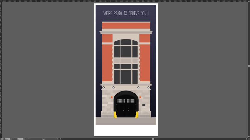 Ghostbusters Fire station HQ. Work in progress