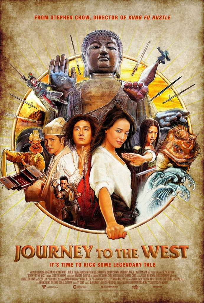 Paul Shipper Stephen Chow Journey to the West Poster