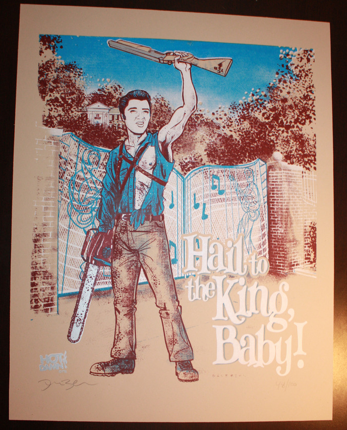 Hail To The King, Baby Evil Dead Elvis