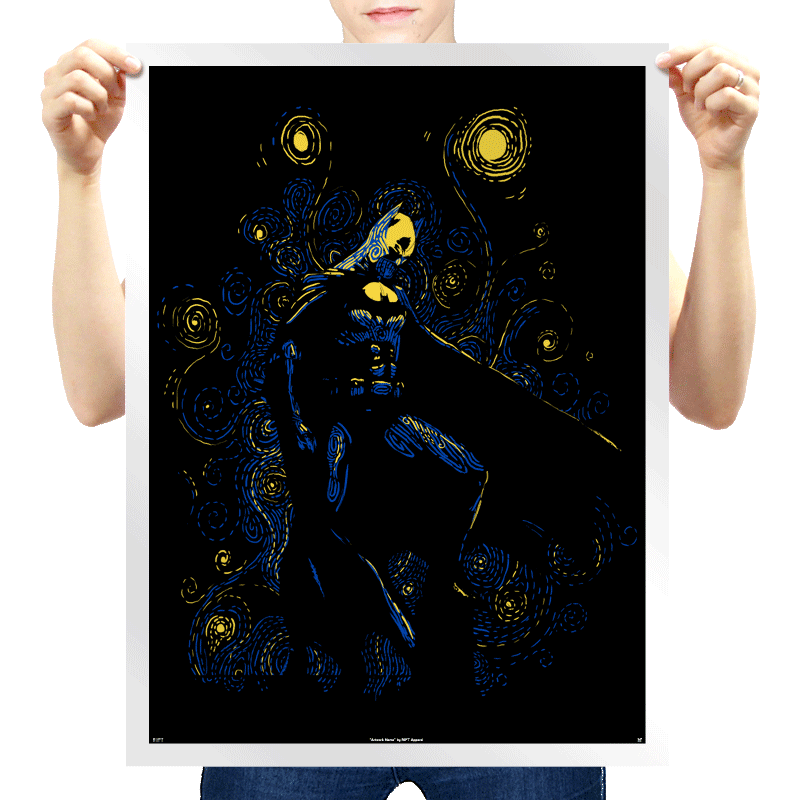 RIPT Apparel starry knight poster