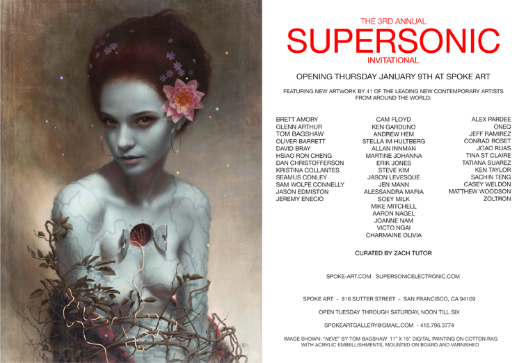 Spoke Art Supersonic International