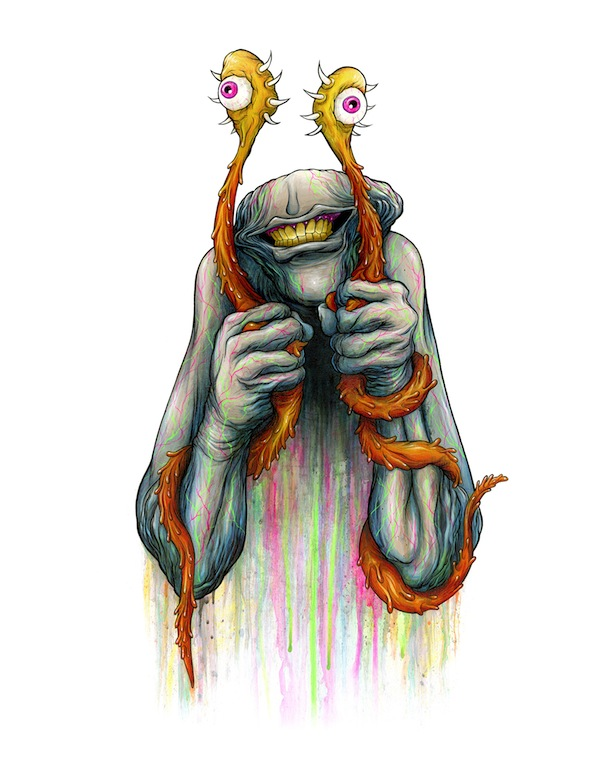 "Alex Pardee - Spoke Art ""Supersonic Electronic"""