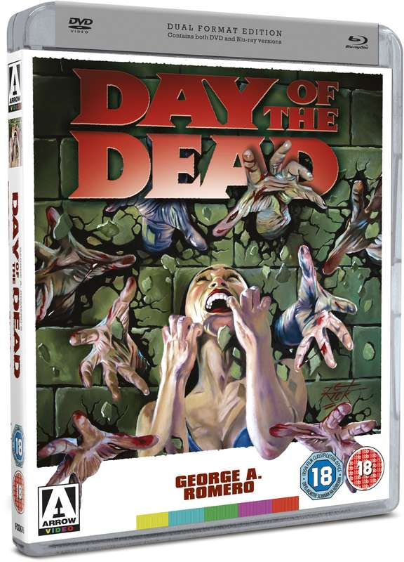 dvd art arrow video day of the dead