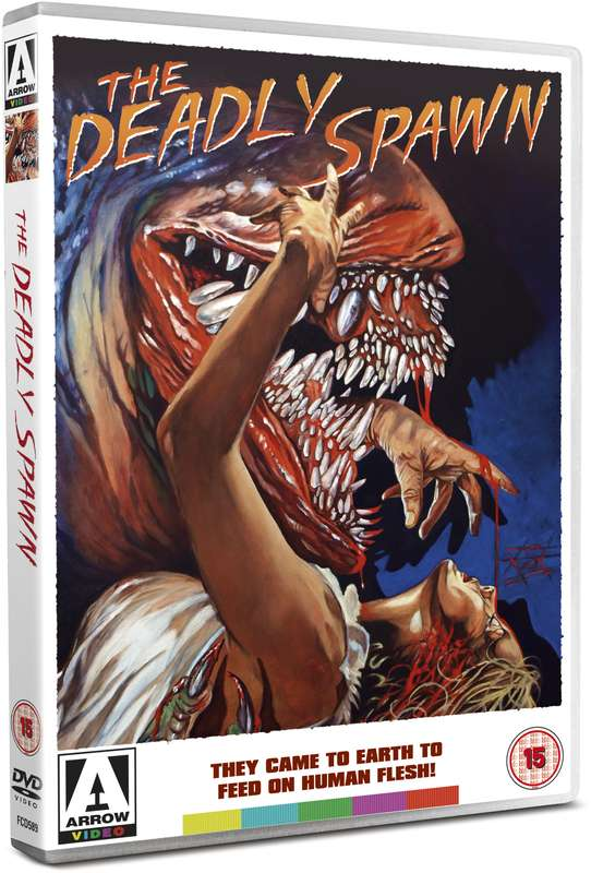 dvd art arrow video deadly spawn