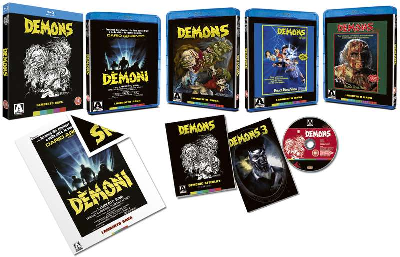 dvd art arrow video demons