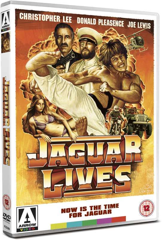 dvd art arrow video jaguar lives