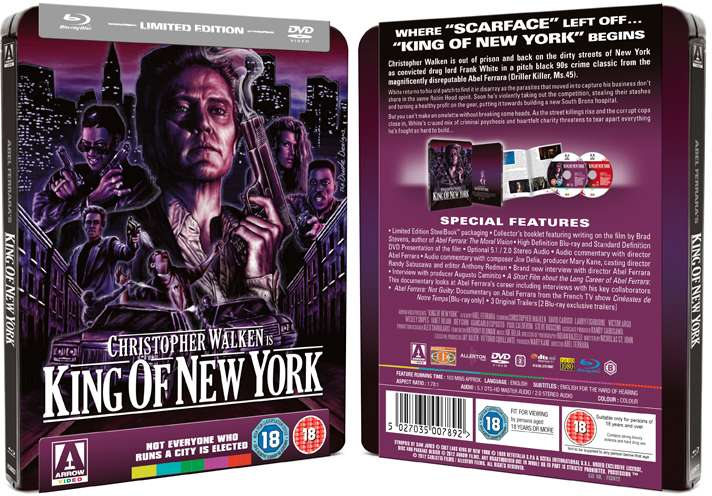dvd art arrow video kings of newyork
