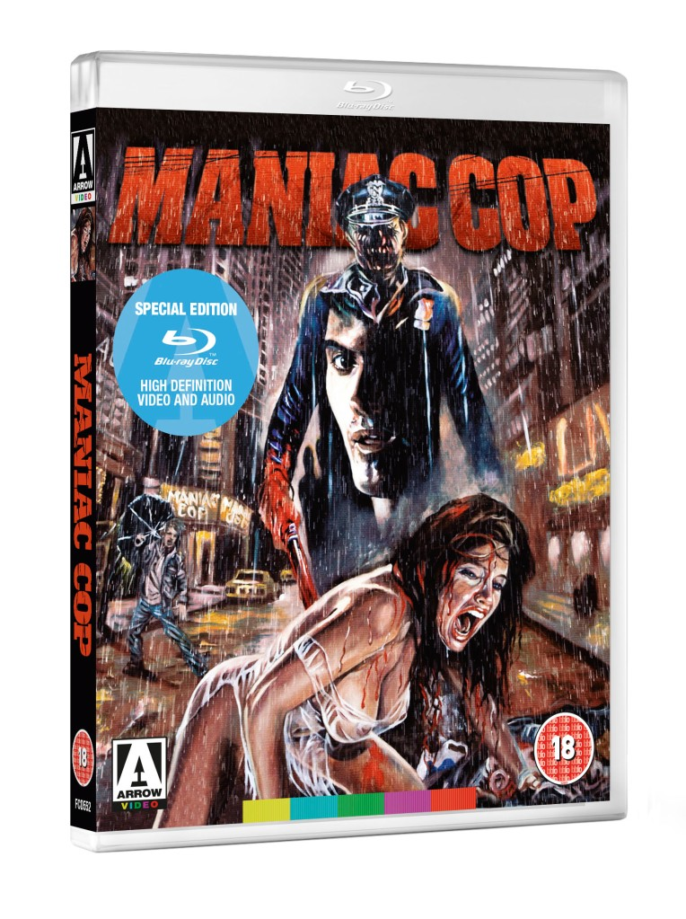 dvd art arrow video manic cop