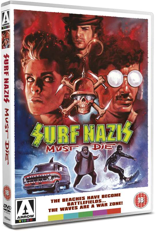 dvd art arrow video surf nazis