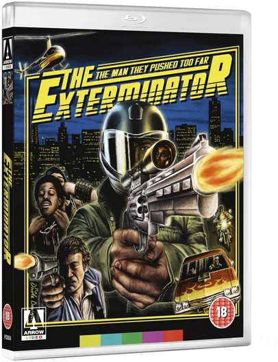 dvd art arrow video the exterminator