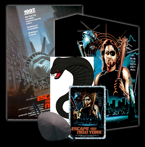 fright rags box set escape from new york set