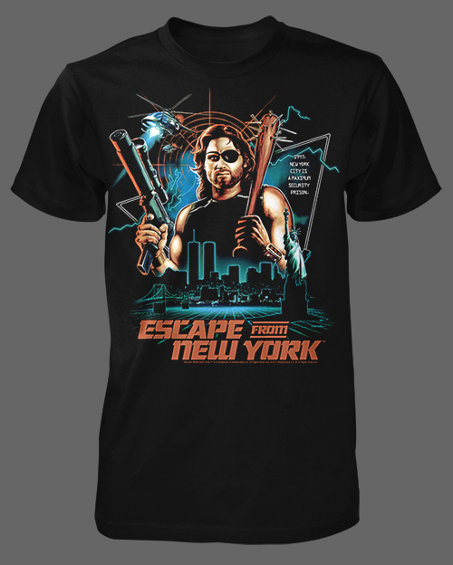 fright rags box set escape from new york t shirt