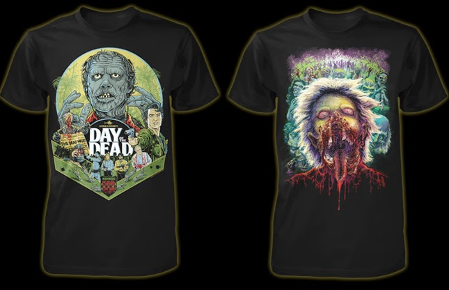 fright rags day of the dead set box set extra items shirts