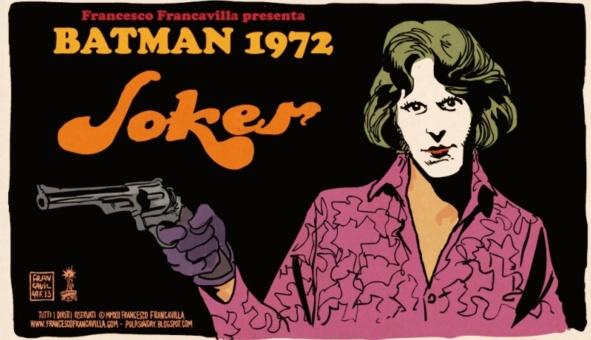 Francesco Francavilla's Batman 1972 joker