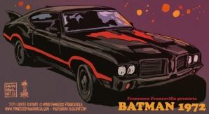 Francesco Francavilla's Batman 1972 batmobile