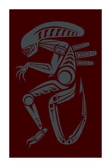 jeffrey veregge art alien 2