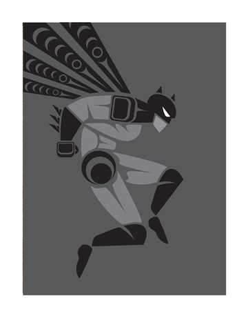 jeffrey veregge the bat