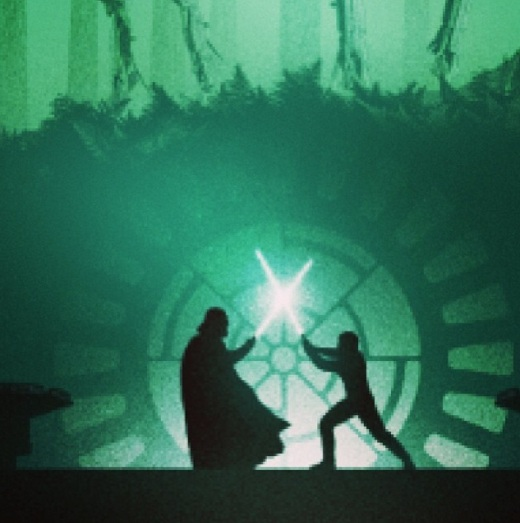 Bottleneck Gallery - Marko Manev - 'Star Wars Return Of The Jedi' Duel