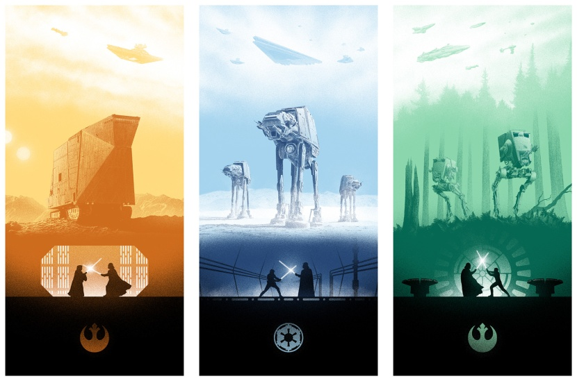 Marko Manev Star Wars Triptych