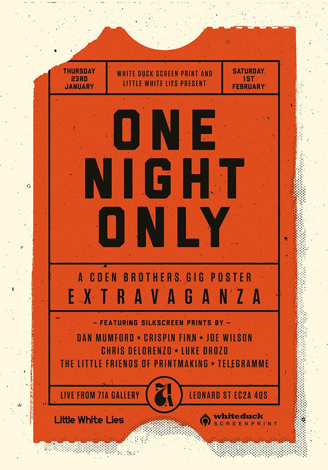 Little White Lies Invite You To 'ONE NIGHT ONLY: A Coen