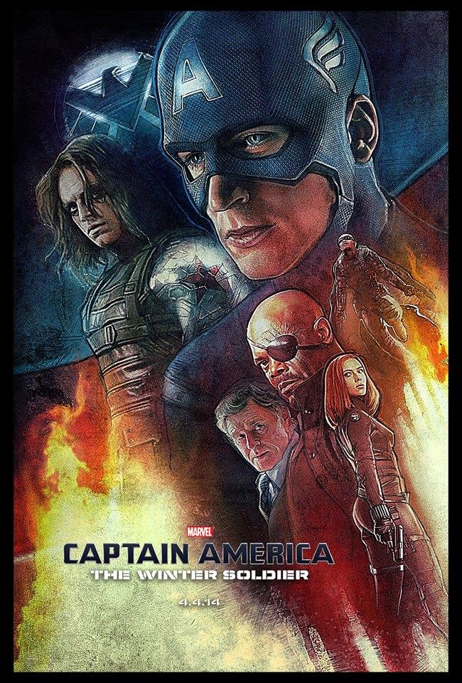 Paul Shipper Captain America