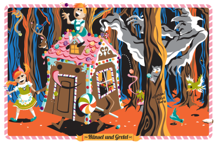 Ridge Strollin Hansel and Gretel