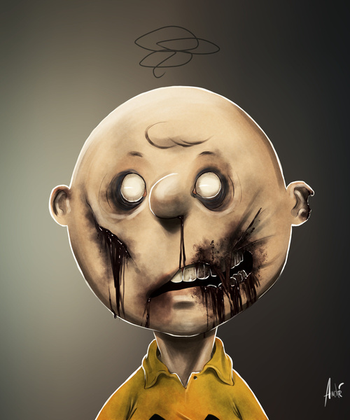 Andre Du Freitas Zombie charlie brown
