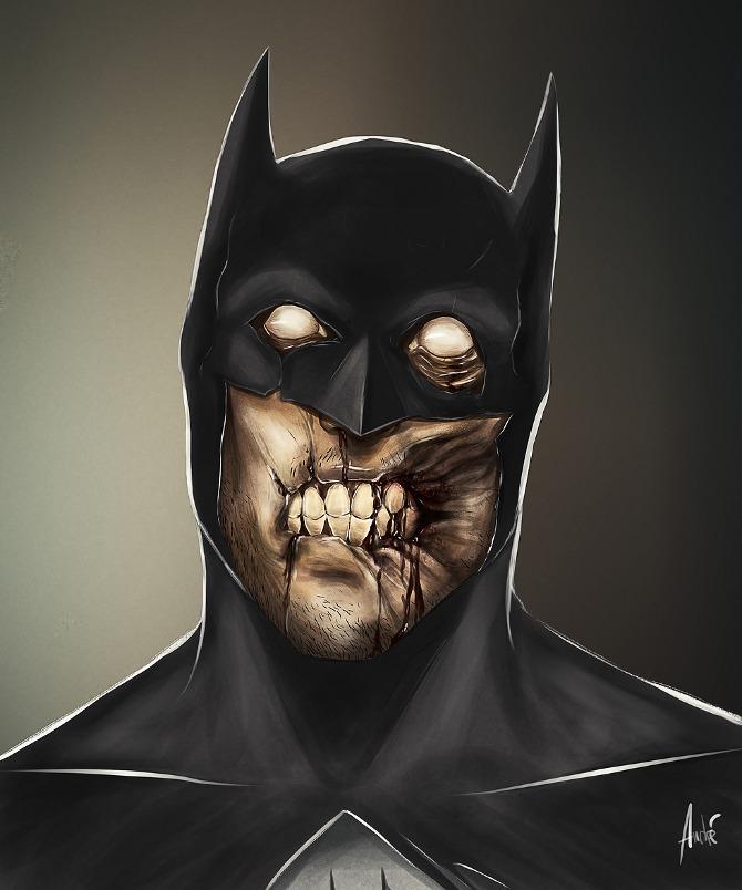 Andre Du Freitas Zombie_batman