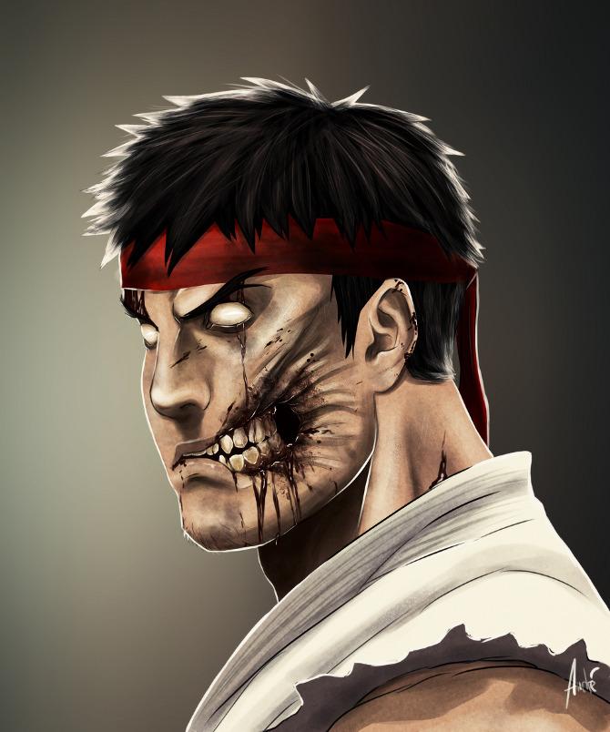 Andre Du Freitas Zombie_Ryu_web