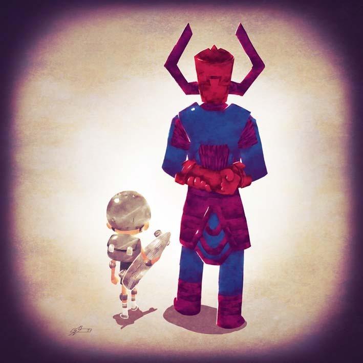 Andry Rajoelina Cosmic Dad