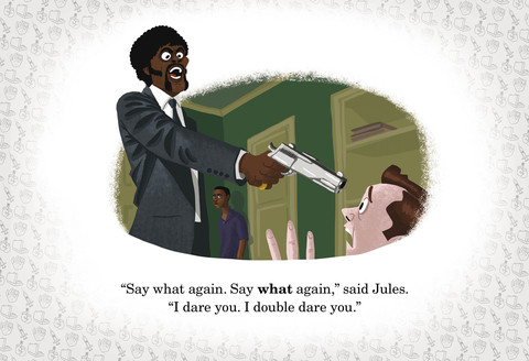 josh cooleys movies r fun book pulp fiction