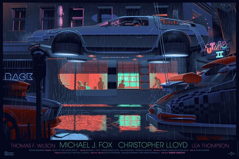 Laurent Durieux Back To The Future Part two Mondo