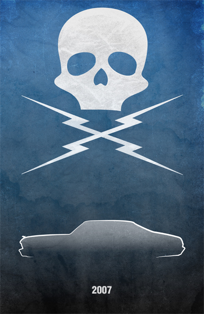 movie car posters death race