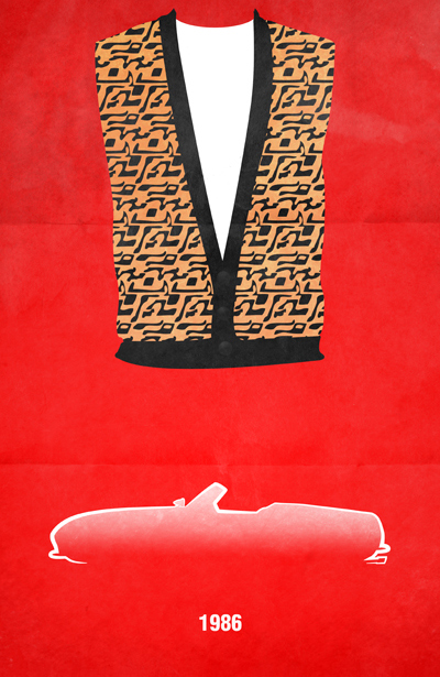 movie car posters ferris bueller