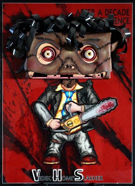 patricks vhs art leatherface
