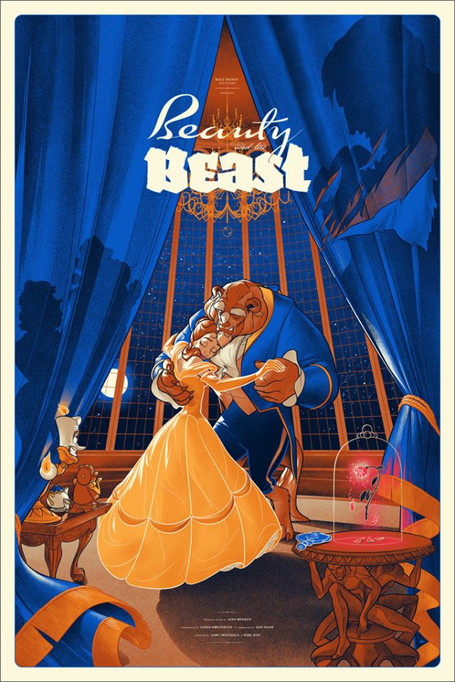 Beauty and the Beast Ansin Disney Mondo