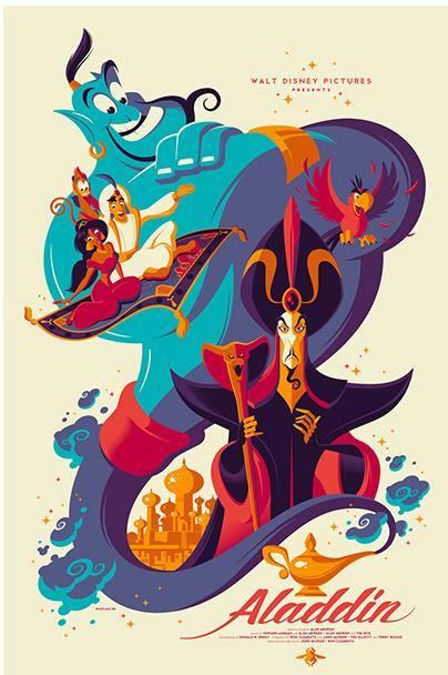 Disney Mondo Aladdin Tom Whalen