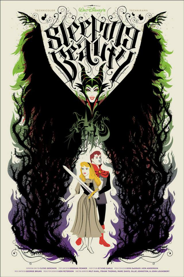 Disney Mondo Sleeping Beauty Billy Baumann