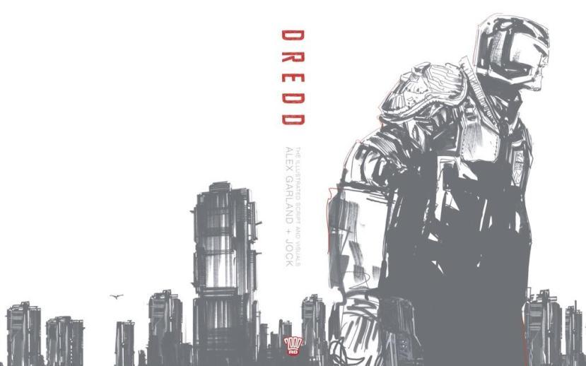 Dredd Hardcover Cover