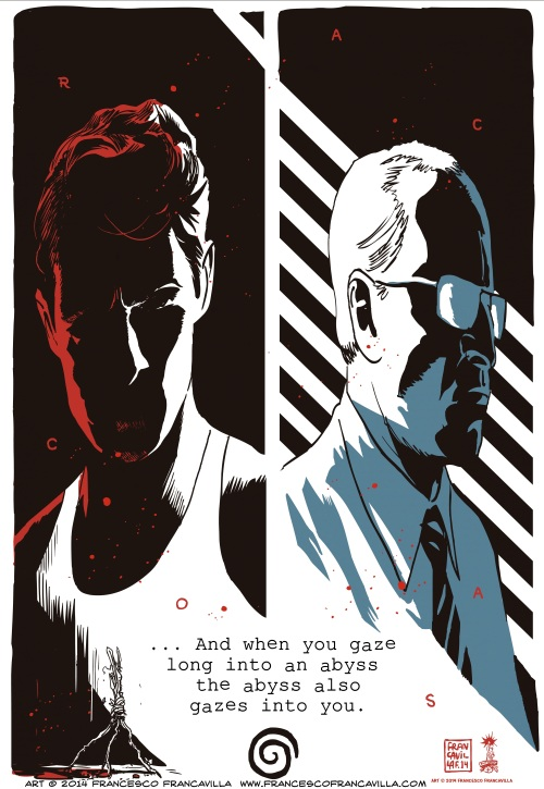 Francesco Francavilla True Detective The Abyss