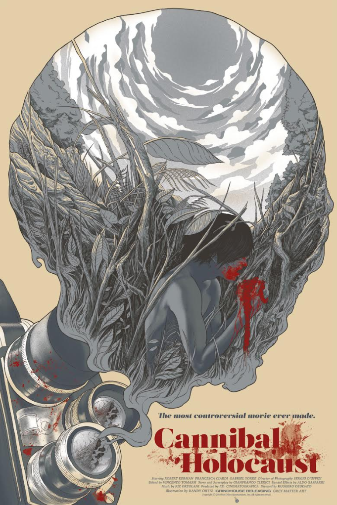 Grey Matter Art Ortiz Cannibal Holocaust variant