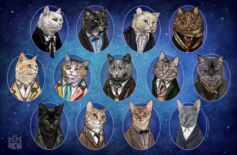 Jenny Parks Gives Us a Look at What Happens When Fandom and Cats collide!