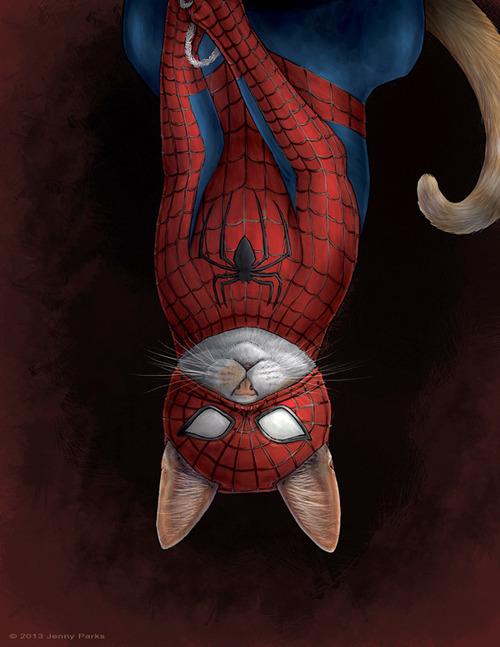 jenny parks spiderman