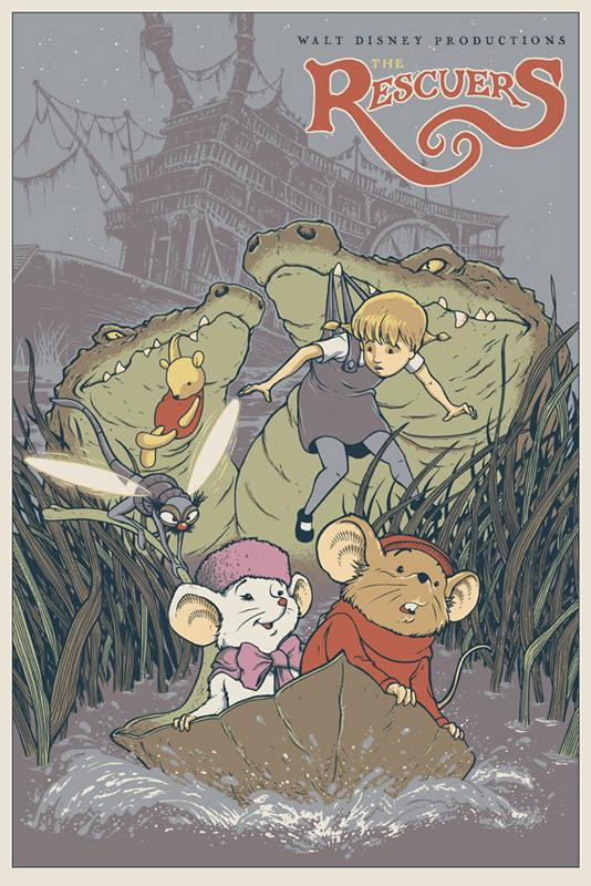 Mondo Disney The Rescuers David Petersen