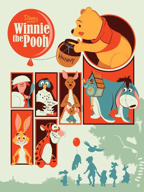 Mondo Disney Winnie The Pooh Dave Perillo