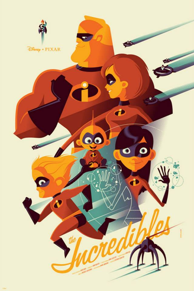 Mondo Tom Whalen Incredibles