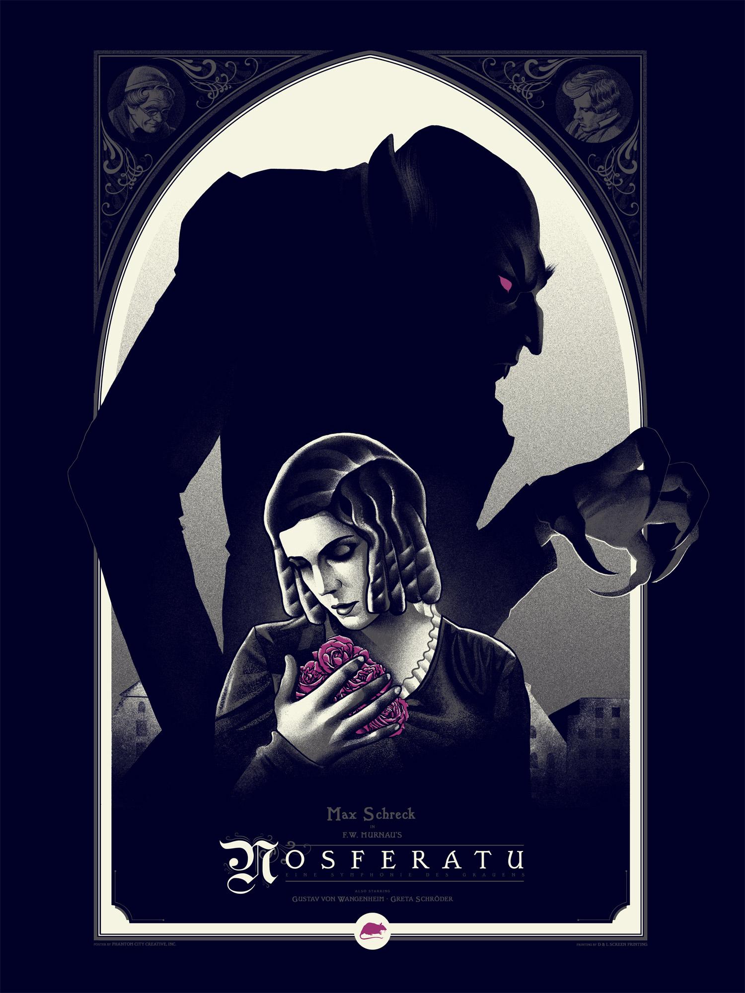 "18/"" x 12/""   Giclee Art Print Poster Nosferatu Illustrated Mondo"