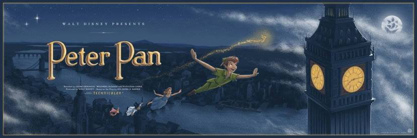 Peter Pan Mondo JC Richard Disney