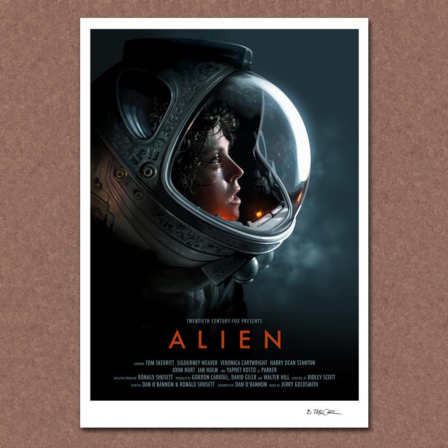 Alien Movie: Candykiller Brian Taylor's Retro Warped Art Style And