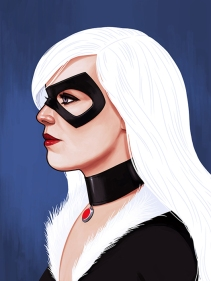 Mike Mitchell Black Cat